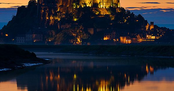 Bucket List: (Mont St. Michel, France) Real life Disney castle