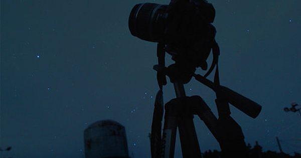 How to Take Pics of the Night Sky: (1) Tripod (2) Manual