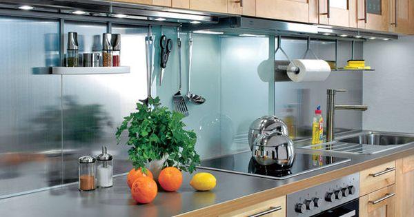 küchenspiegel aus glas: schritt 7 von 7 | küche | pinterest | deko ... - Küchenspiegel Mit Fototapete