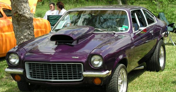 See How Cool It Looks In Purple Honey Chevy Vega Classic Cars