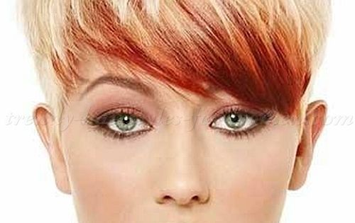 Short Pixie Hairstyles 2015 Short Blonde Pixie Haircut