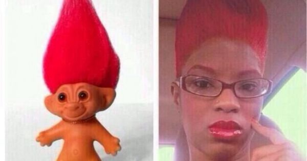 Top 20 Ghetto Red Weaves That Will Make You Laugh Until