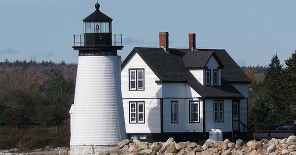 Gull Cottage Is In Prospect Harbor Schoodic Point Maine Prospect Near Acadia Hidden In The Picturesque Fishing Village Of P Maine Living Cottage House Styles