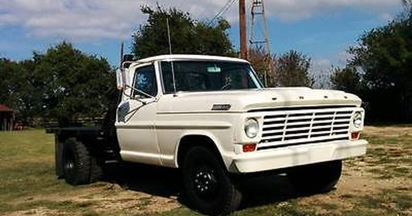Ebay Ford F 100 1967 Ford F350 Dually Flat Bed With Braden Winch Lots Of Restoration Work Done Classiccars Ca Ford Trucks Ford Pickup Classic Cars Trucks