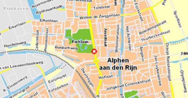 plattegrond alphen aan den rijn centrum | Algemeen ...