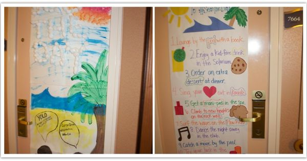 10 Ideas for Decorating your Cruise Cabin Door | Cabin ...