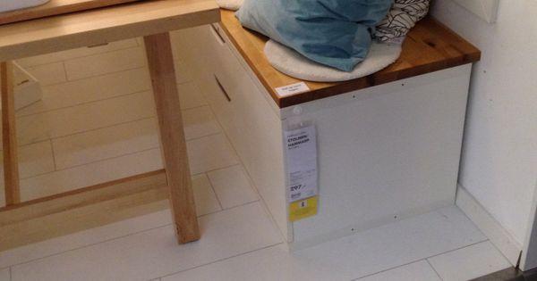 Eetbank #ikea  Interieur ideeën  Pinterest  Ikea
