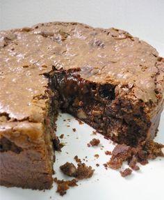 Blog Delicias Temperos Bolo Cremoso De Chocolate Com Banana Bolos Cremosos Bolo De Chocolate Com Banana Receitas
