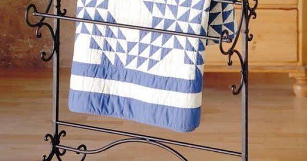 Blanket Quilt Stand Rack Holder Hanger Display Towel
