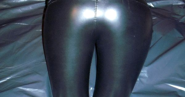 lotti tight young ass in latex tight latex pussy by lotti leggings