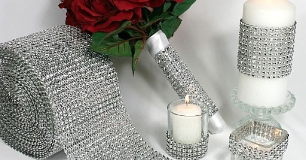 Great idea for your vases or candle.holders and jars laying around that