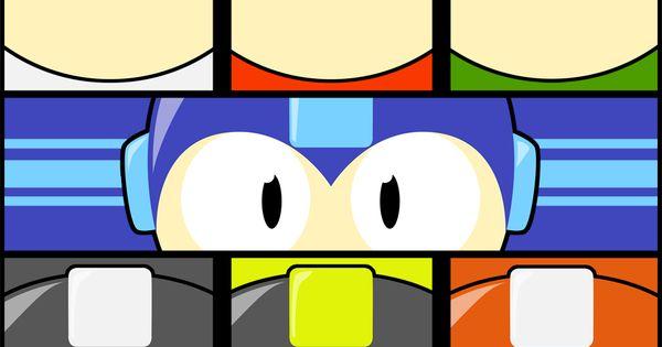 Megaposter Mega Man Nerd Life Man