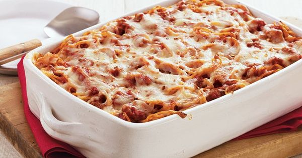 Easy Baked Spaghetti Recipe - Pinching Your Pennies