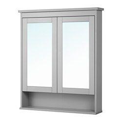 Hemnes Spiegelschrank 2 Turen Grau Ikea Deutschland Hemnes Badezimmer Spiegelschrank Und Spiegelschrank