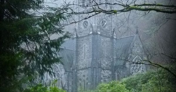 Neogothic Church - @ Kylemore Abbey - Ireland //Absolutely Beautiful Setting And