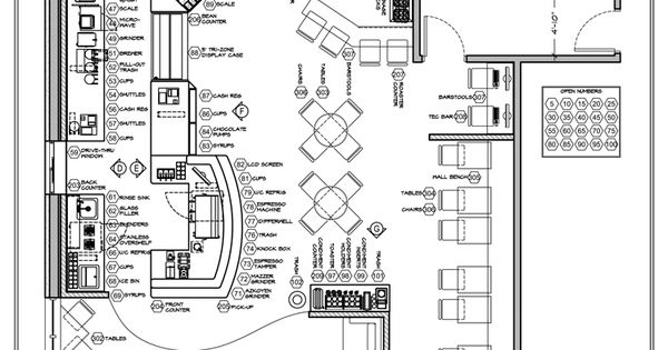 coffee shop floor plan day care center pinterest coffee shop 314 architecture studio archdaily