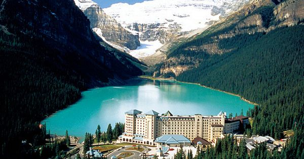 Lake Louise in Banff National Park, Canada........ One of our top honeymoon