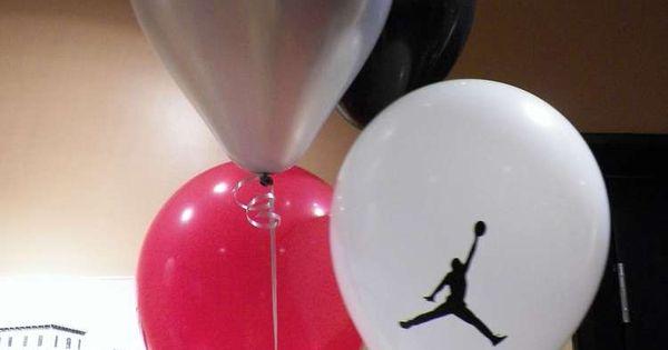 Michael Jordan Jumpman Baby Shower Party Ideas | Michael jordan, Themed baby showers and Baby ...