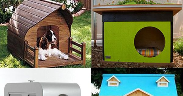 Great doghouse ideas!