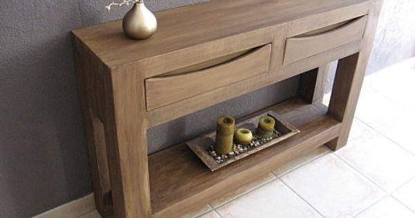 Table Console En Carton Imitation Bois Meubles En Carton Marie Krtonne Cardboard Furniture Cardboard Design Diy Cupboards
