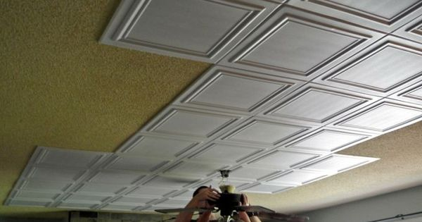 Popcorn Ceiling Makeover- Low Budget, Big Impact