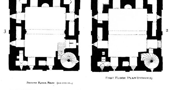 floor plans of the keep from the growth of the english