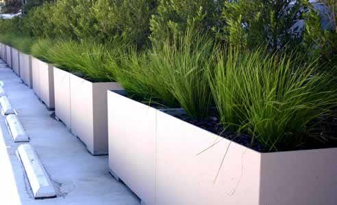 Lightweight Concrete Planter Boxes By Mascot Engineering Concrete Planter Boxes Diy Concrete Planters Concrete Garden