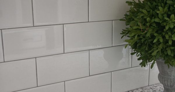 Best Delorean Gray Grout With White Subway Tile Tile 400 x 300