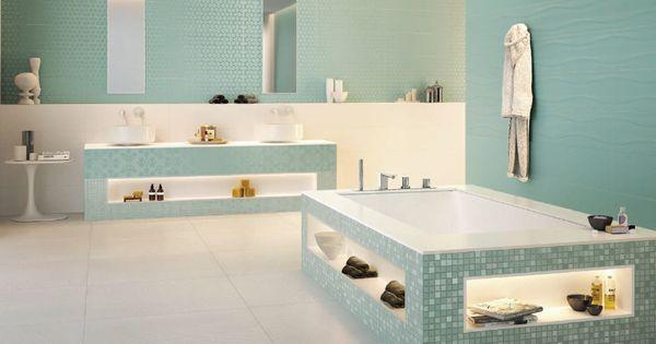 Vedenvihre kylpyhuone on kuin oma spa osasto for Carrelage vendenheim