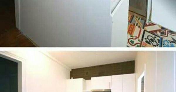 encastrer son lave linge pour gagner de la place le dissimuler sous le plan de travail id e. Black Bedroom Furniture Sets. Home Design Ideas