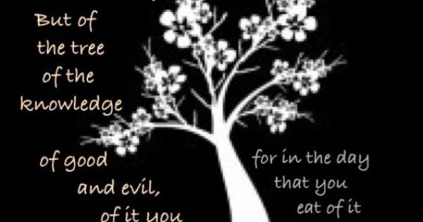 Seeing what the tree of knowledge of good and evil is and for Tree of knowledge of good and evil tattoo