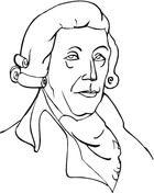 Joseph Haydn Coloring Page
