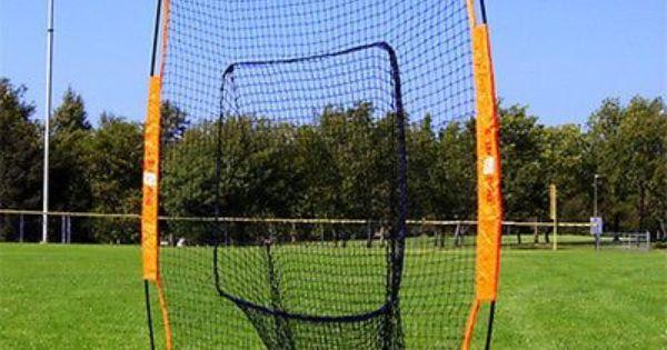 Bownet Big Mouth Portable Soft Toss Practice Net Screen Baseball Softball Backyard Baseball Baseball Softball Big Mouth