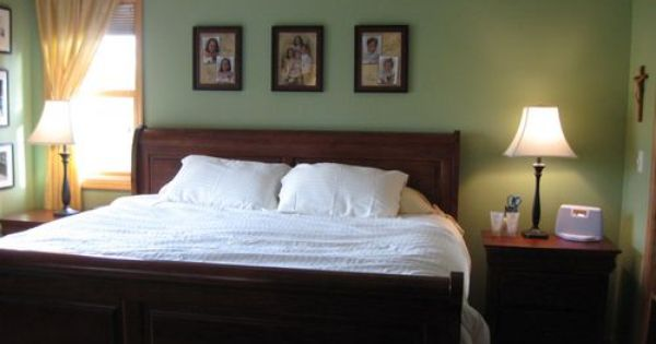 Spare room paint and green on pinterest