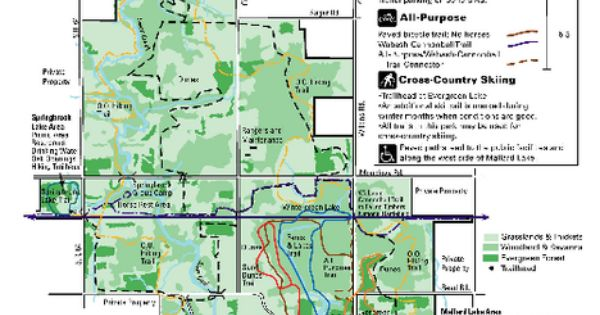 Oak Openings Metropark Map Maps Local Pinterest Ohio