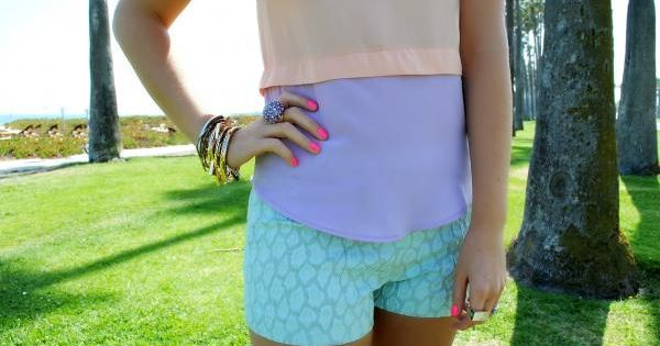 color blocking pastels for summer {love the clothes summer clothes for summer