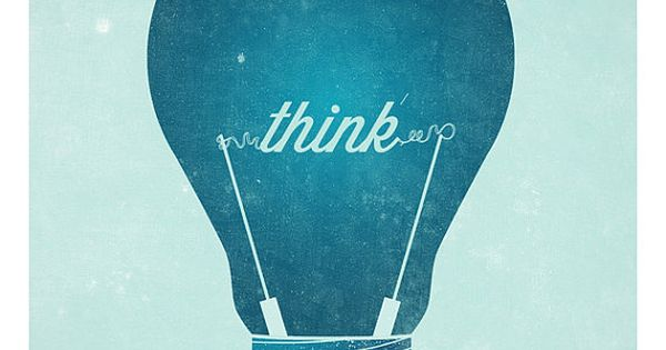 Think Wall Poster Uncovet