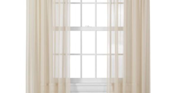 Target Home Window Sheer Heavy Cream