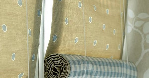 Simple and easy roll up blinds i wonder if i could make for How to make roll up curtains