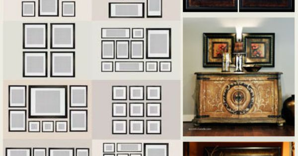 Photo Wall Collage Living Room Layout