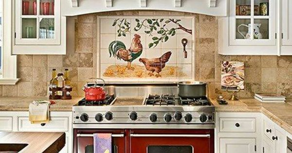 What Do You Really Think About A Rooster Backsplash