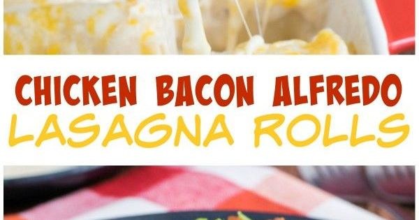 Chicken bacon, Lasagna noodles and A chicken on Pinterest
