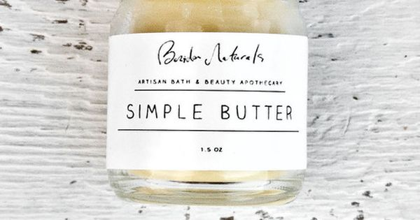 beridan naturals | simple butter- really really love these 2 very different