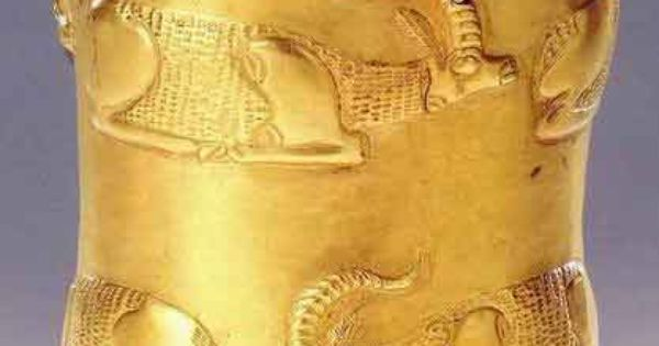 1000 Images About Artifacts Archaeological Treasures On: Treasure From Marlik,Iran Gold Cup 1000 BC