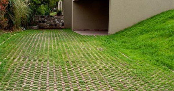 Grasscrete Paving Hardscaping Pinterest Driveways