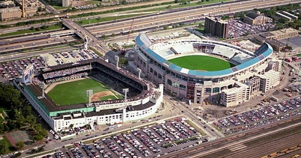 Flip Flop Fly Ballin Old And New Comiskeys Comiskey Park Baseball Park Mlb Stadiums