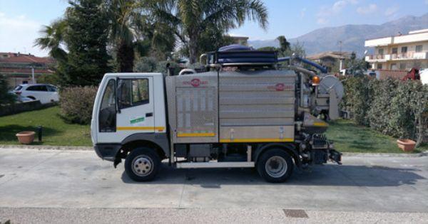 Spurgo Fognature Roma Trucks Vehicles
