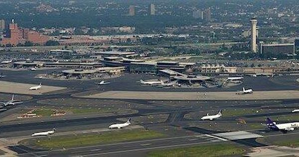 Newark New Jersey Newark New Jersey Field Airplane View