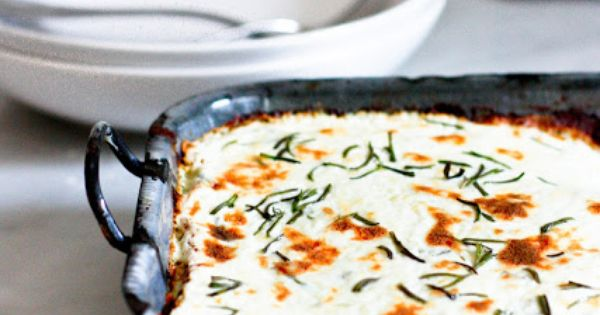 Rosemary Chicken Lasagna. Creamy and flavorful, this lasagna recipe is made with