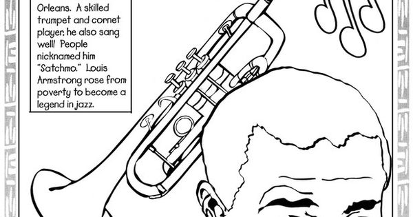 f african american coloring pages - photo #43
